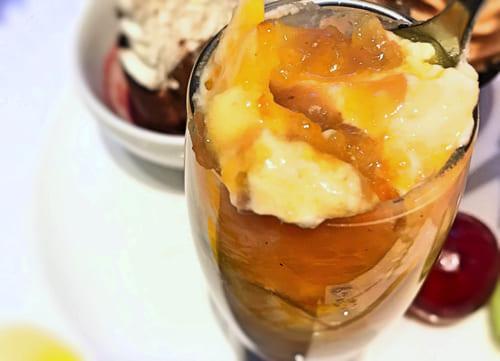 マロンとオレンジのチーズクリームの感想