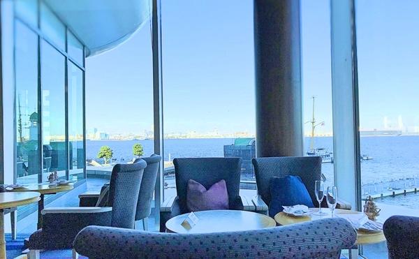 横浜グランドインターコンチネンタルホテル マリンブルーからの眺め