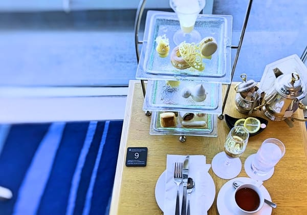 横浜グランドインターコンチネンタルホテル マリンブルー アフタヌーンティーのブログ