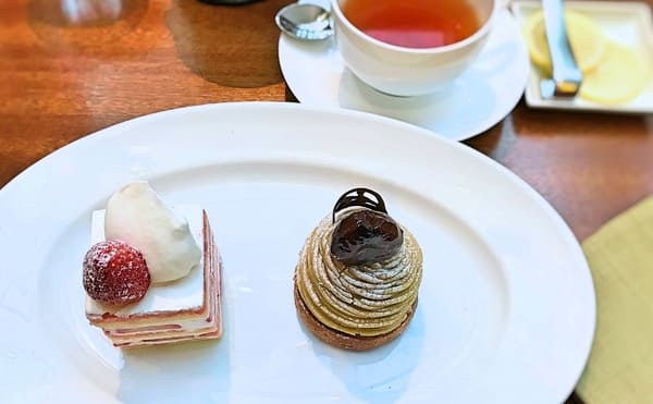 グランドハイアット東京 フィオレンティーナ ケーキ 「ショートケーキ モンテビアンコ」