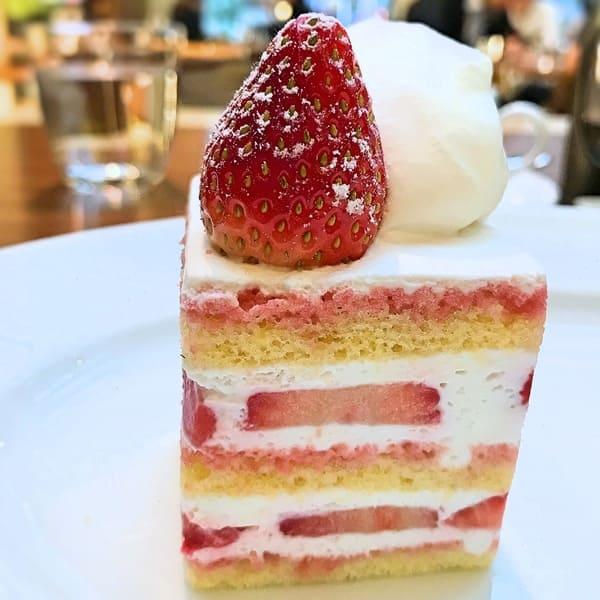 グランドハイアット東京 フィオレンティーナ ストロベリーショートケーキ