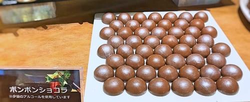 夜間飛行 チョコレートスイーツブッフェ ボンボンショコラ