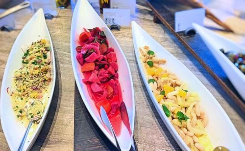 MIXXイタリアンランチブッフェ「ピクルスやトリッパのサラダ」