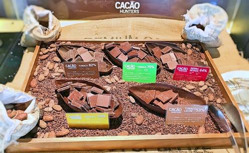 MIXXバー イタリアンランチブッフェ「カカオハンターのチョコレート」