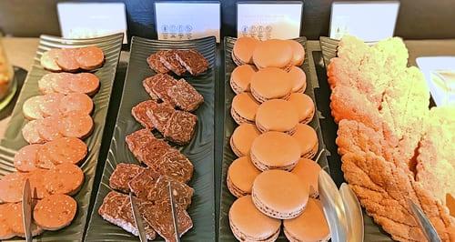 MIXXバー イタリアンランチブッフェ「マカロン・焼き菓子」
