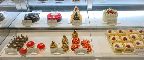 マンダリンオリエンタル東京「ザ マンダリン オリエンタル グルメショップ」ケーキのショーケース