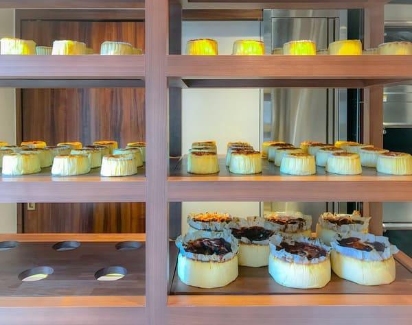 バスクチーズケーキ専門店 ガスタ(GAZTA)の店内の様子