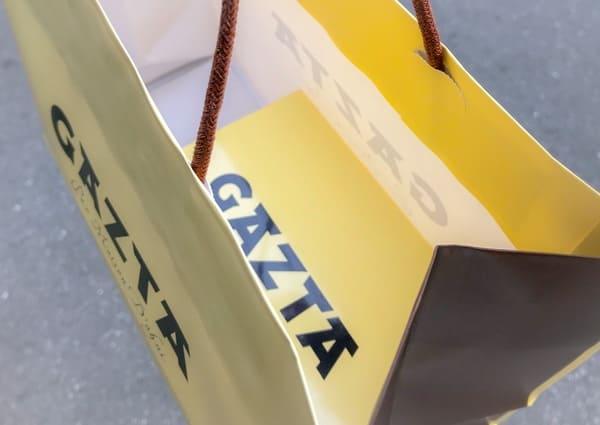GAZTA ガスタ バスクチーズケーキ 包装も可愛い