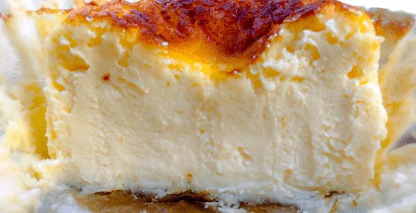 GAZTA ガスタ バスクチーズケーキはふるふるなのに、しっとり密度のある重さも感じられる…すっごい不思議で美味しいっ!