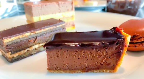 フランチキッチン アフタヌーンティー チョコレートタルト