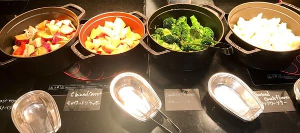 ウェスティンホテル東京 ザ・テラス ディナーブッフェの温野菜