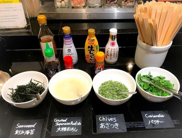 ウェスティンホテル東京 ザ・テラス ディナーブッフェのヌードルステーション