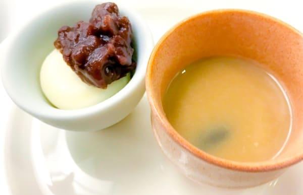 川崎日航ホテル プレミアムスイーツブッフェ アイスと栗のお汁粉