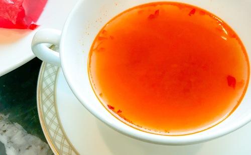横浜ベイシェラトン「ベイ・ビュー」スープ