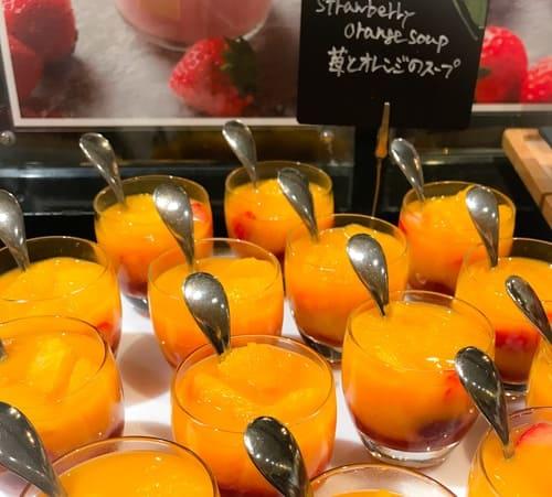 苺とオレンジのスープ*