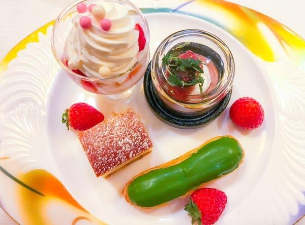 ウェスティンホテル東京 ザ・テラス ストロベリーデザートブッフェ 2019年2月 レビューブログの写真