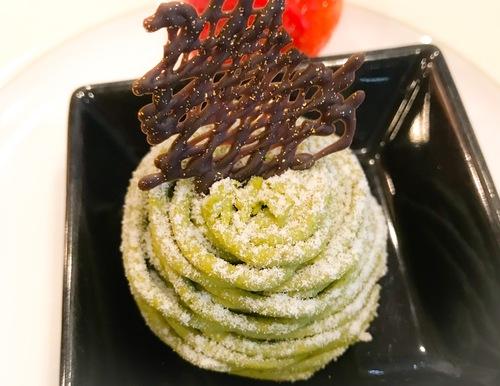 京成ホテルミラマーレ ミレフォリア デザートバイキング 2019年2月 抹茶ショコラモンブラン