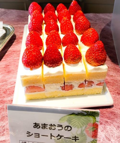 川崎日航ホテル 夜間飛行 あまおうのショートケーキ