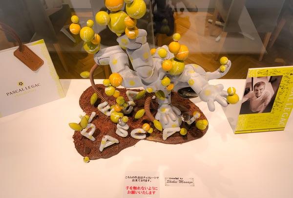赤坂「パスカル・ル・ガック東京」入り口正面のパスカル・ル・ガックさんのショコラアート ブログ