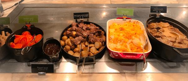 フレンチキッチン ランチブッフェ ホットステーションのお料理その3写真
