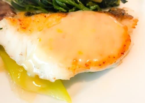 フレンチキッチン ランチブッフェ 真鯛のポワレの写真 感想ブログ