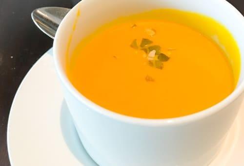 フレンチキッチン ランチブッフェ かぼちゃのスープ 写真と感想ブログ