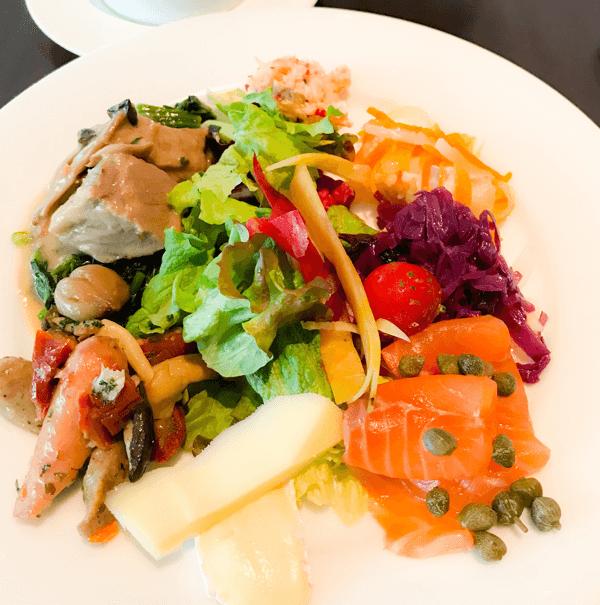 グランドハイアット東京 ランチブッフェ 食べたお皿の解説 ブログ