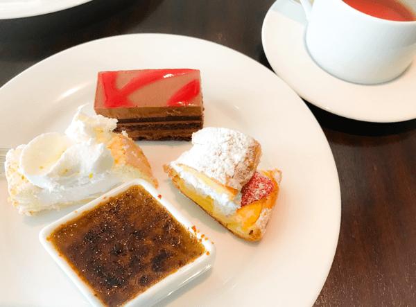 グランドハイアット東京 フレンチキッチン ランチブッフェのデザート