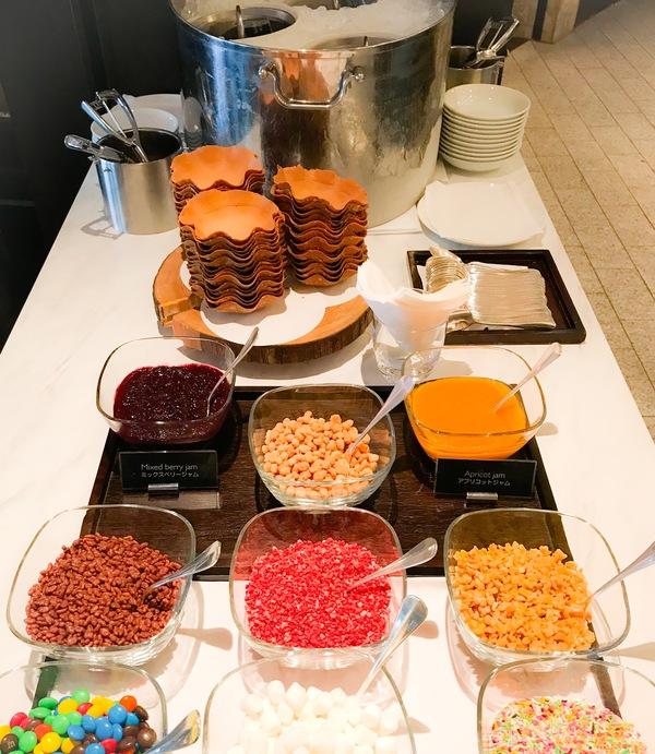 フレンチキッチン ランチブッフェ アイスブッフェ台の写真 ブログ