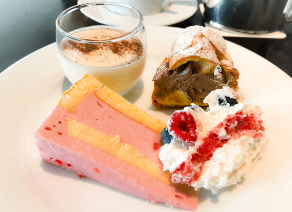 フレンチキッチン ランチブッフェ デザート2皿目の写真