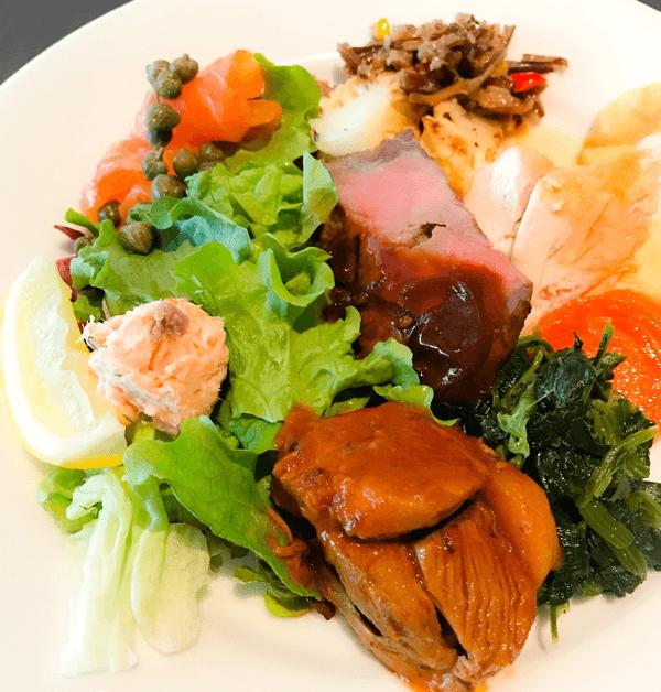 フレンチキッチン ランチブッフェの食べた物、感想ブログ