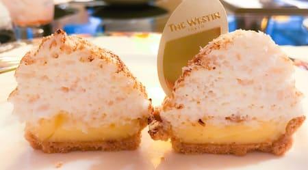 ウェスティンホテル東京 ザ・テラス レモンとココナッツのタルト