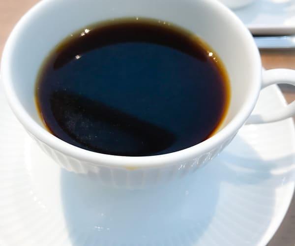 東京會舘 マロンシャンテリー セットのコーヒー写真
