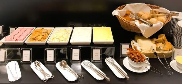 ソマーハウス デザートブッフェの軽食写真 ブログ