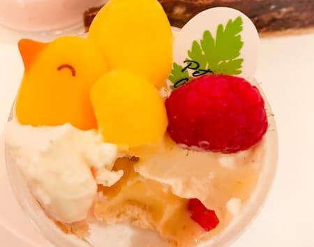 ザ・テラス デザートブッフェ 苺とレモンのタンバル