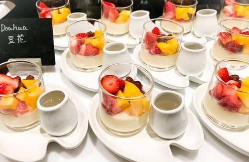 ウェスティンホテル東京 ザ・テラス ストロベリーデザートブッフェ 豆花