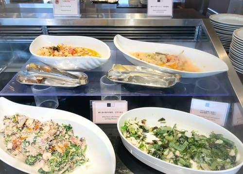 帝国ホテル 東京「インペリアルバイキング サール」ランチブッフェの冷たい前菜4種