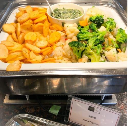 帝国ホテル東京 インペリアルバイキング サール  ランチバイキング 温野菜 写真 ブログ