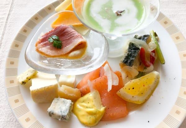 帝国ホテル東京 インペリアルバイキング サール  ランチバイキング 食べたお皿の写真 ブログ