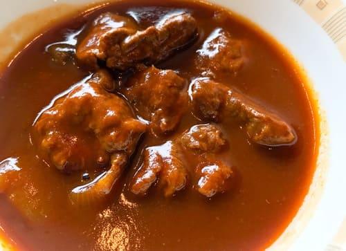 帝国ホテル サール ランチ お肉ゴロゴロハッシュドビーフの感想ブログ