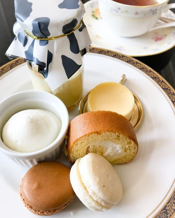 リーガロイヤルホテル東京 スイーツビュッフェで食べたお皿の写真 ブログ