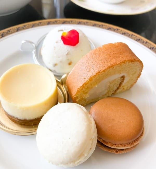 リーガロイヤルホテル東京 スイーツブッフェ 食べたお皿