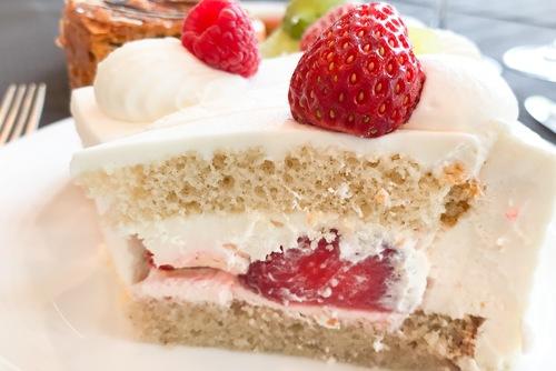 ホテルニューオータニ東京 スイーツブッフェ SATSUKI エクストラスーパーあまおうショートケーキの写真 ブログ