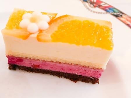 ザ・テラス 【アトリエ】オレンジとカシスのムース