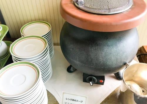 夜間飛行 レンズ豆のスープ