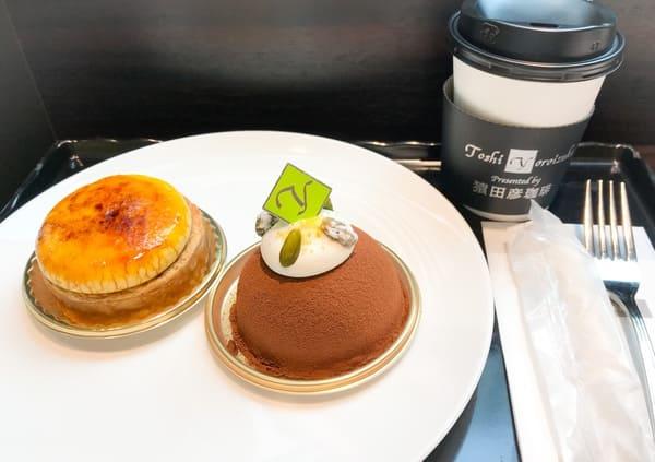 鎧塚俊彦 Toshi Yoroizuka Tokyo 京橋エドグラン で食べたケーキ