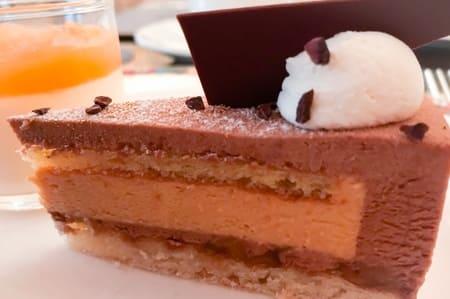 ミルクチョコレートとキャラメルのムース ザ・テラス ブログ