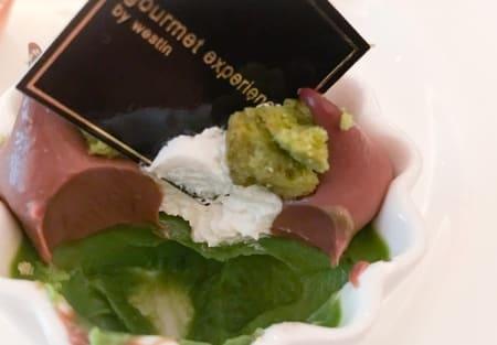 抹茶のフランミルクチョコレートのクリーム ブログ