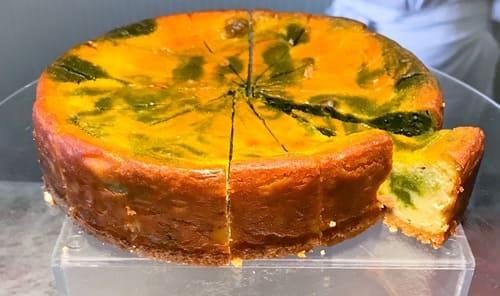夜間飛行 スイーツブッフェ メニュー ベイクドチーズケーキ