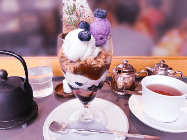 アサコイワヤナギ パルフェ ブルーベリーチーズケーキ 口コミブログ